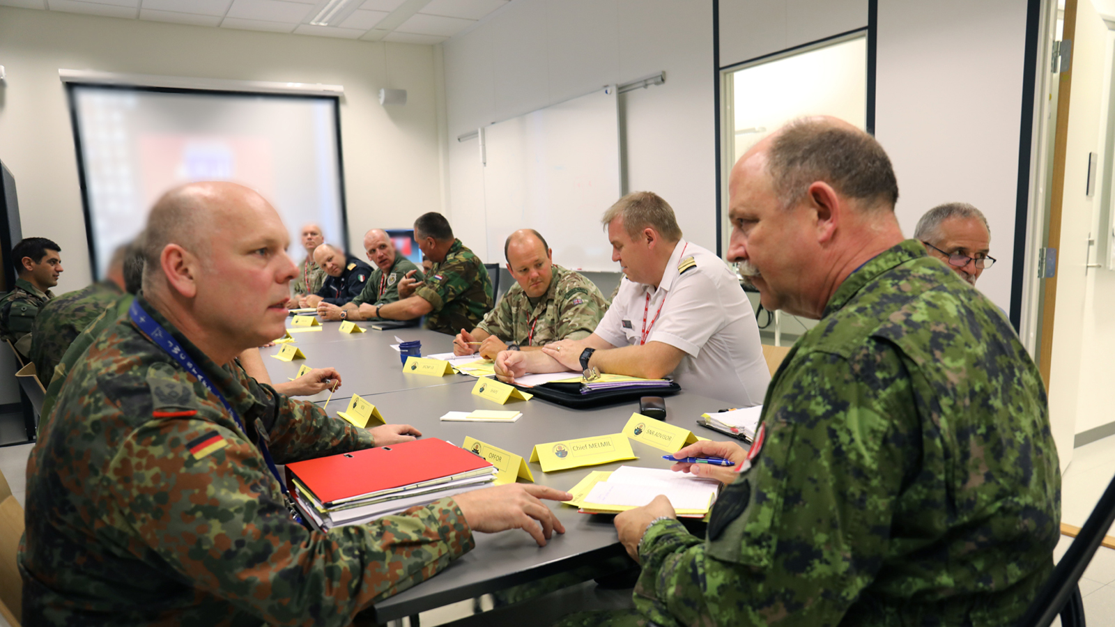 JWC conducts TRIDENT JUNCTURE 2018 MEL/MIL Scripting Workshop: Synchronization is the key to success