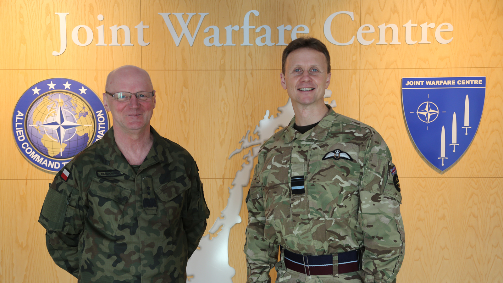 Director Joint Warfare, United Kingdom Joint Forces Command, visits Joint Warfare Centre