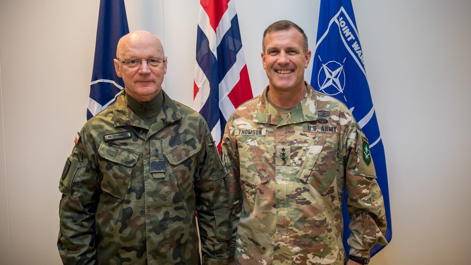 Commander of NATO Allied Land Command visits Joint Warfare Centre