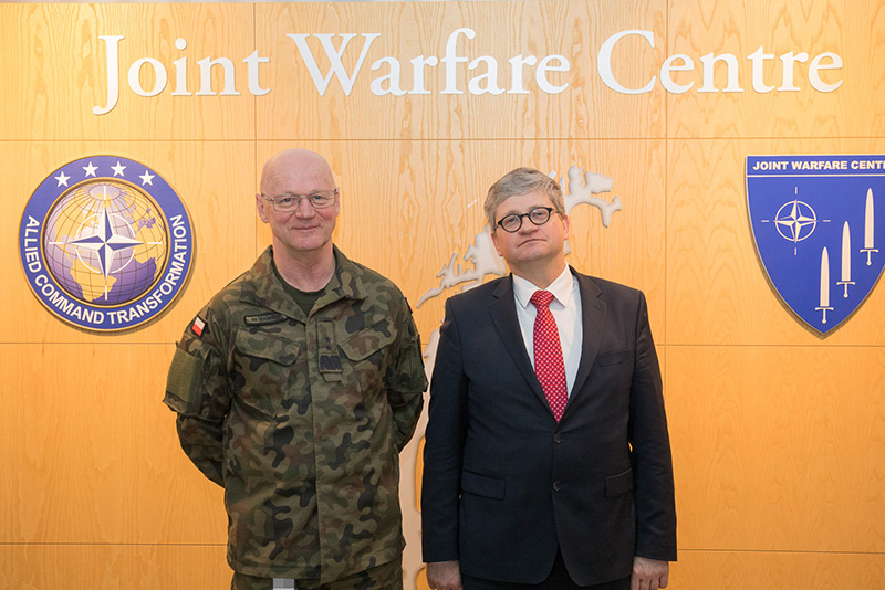 Polish National Security Bureau visits JWC