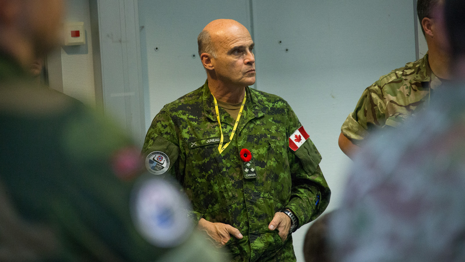 Interview with Lieutenant General Christian Juneau on TRIDENT JUNCTURE 2018 Command Post Exercise