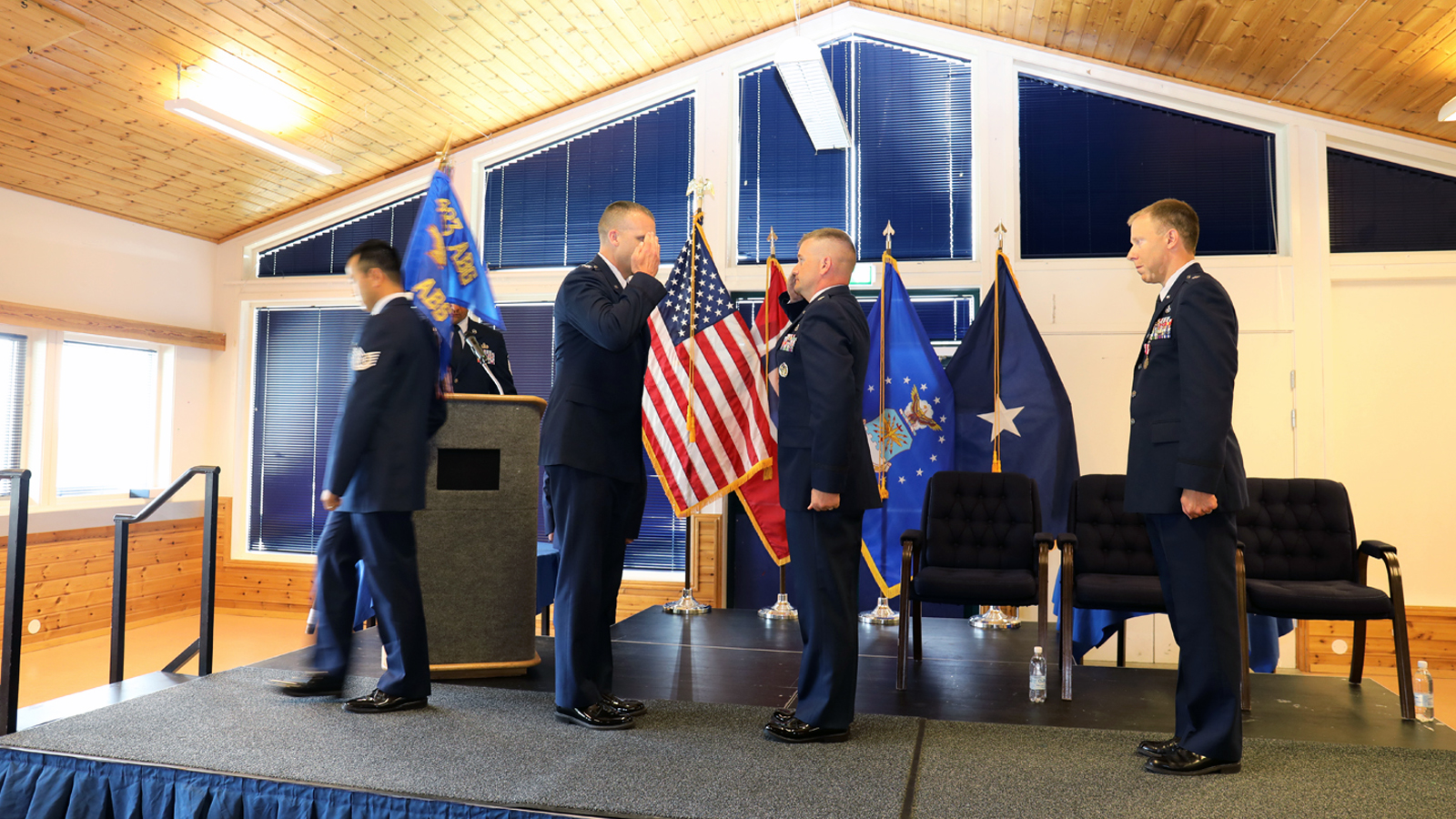 426th Air Base Squadron changes command