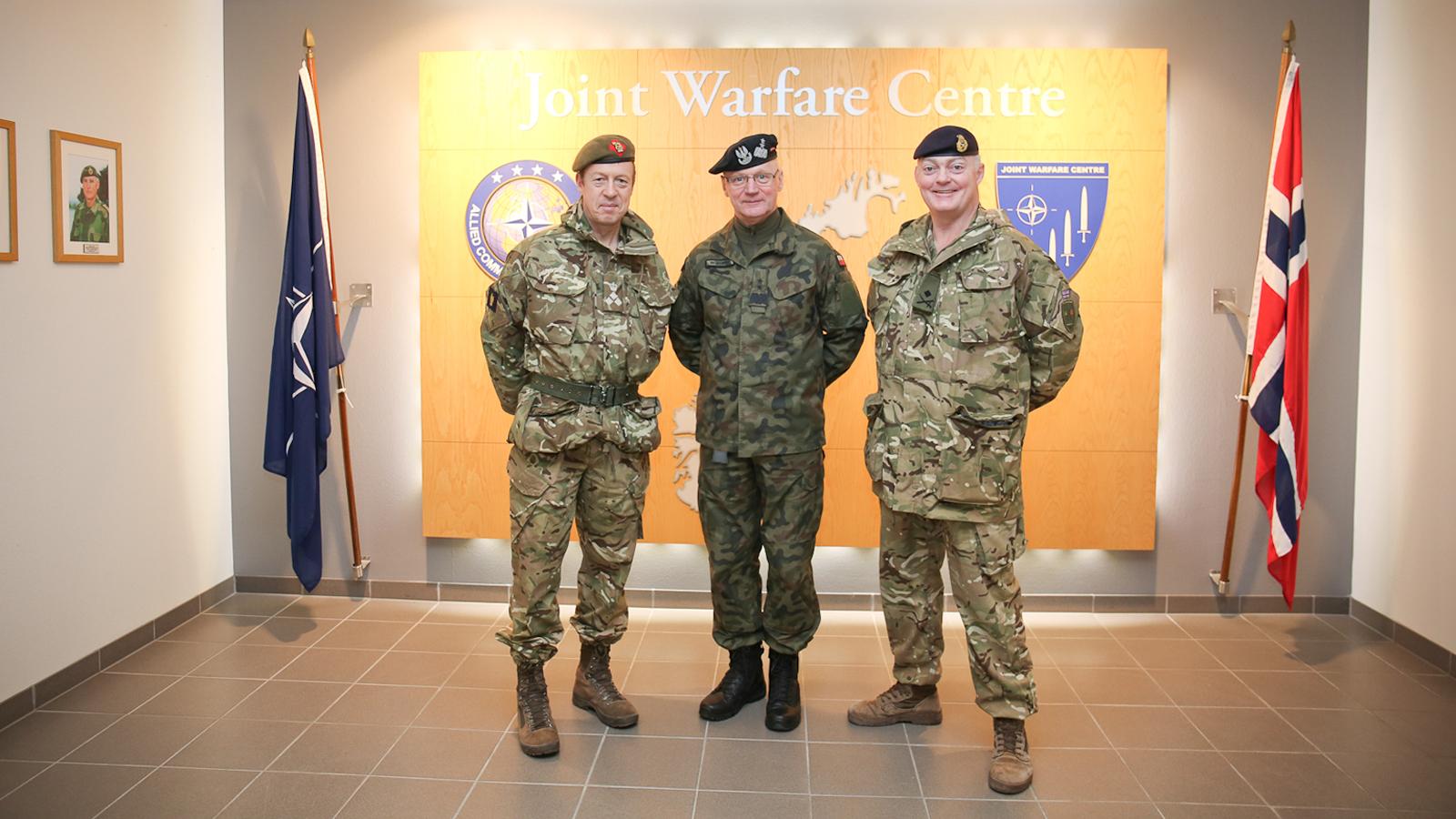 Two delegations from JFC Brunssum and British Joint Forces Command visit JWC